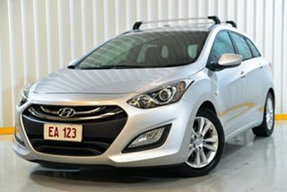 2013 Hyundai i30 GD Tourer Active 1.6 CRDi Silver 6 Speed Automatic Wagon.