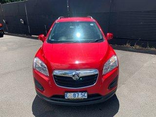 2015 Holden Trax TJ MY16 LS Blaze Red 6 Speed Automatic Wagon.