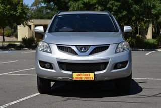 2012 Great Wall X200 K2 MY12 Silver 5 Speed Automatic Wagon.