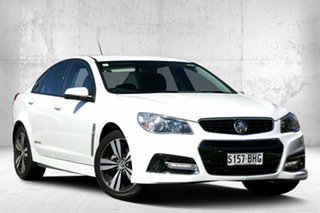 2015 Holden Commodore VF MY15 SV6 Storm Heron White 6 Speed Sports Automatic Sedan.