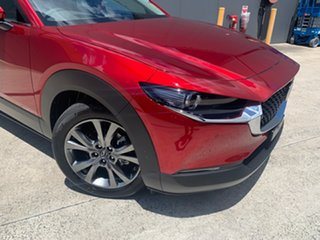2020 Mazda CX-30 DM4WLA X20 SKYACTIV-Drive i-ACTIV AWD Astina Soul Red Crystal 6 Speed.