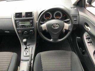 2008 Toyota Corolla ZRE152R Conquest White 4 Speed Automatic Sedan