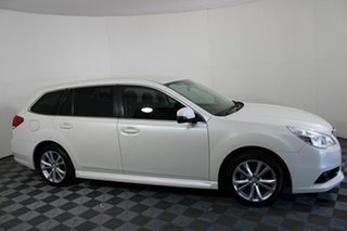2013 Subaru Liberty B5 MY13 2.5i Lineartronic AWD White 6 Speed Constant Variable Wagon.