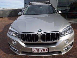 2015 BMW X5 F15 xDrive30d Silver 8 Speed Sports Automatic Wagon