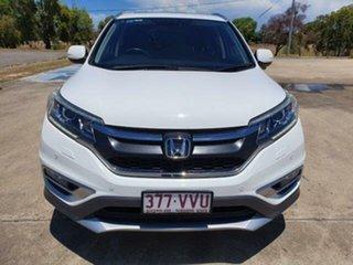 2015 Honda CR-V RM Series II MY16 VTi-L White 5 Speed Sports Automatic Wagon.