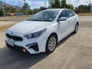2018 Kia Cerato BD MY19 S White 6 Speed Sports Automatic Sedan