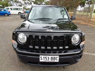 2014 Jeep Patriot MK MY14 Limited Black 6 Speed Sports Automatic Wagon.