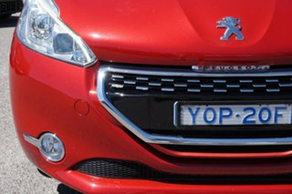 2014 Peugeot 208 A9 MY14 GTi Red 6 Speed Manual Hatchback