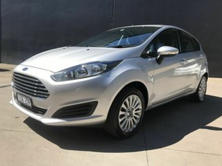 2016 Ford Fiesta WZ Ambiente Silver 6 Speed Automatic Hatchback.
