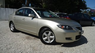 2007 Mazda 3 BK10F2 Maxx Silver 4 Speed Sports Automatic Sedan.