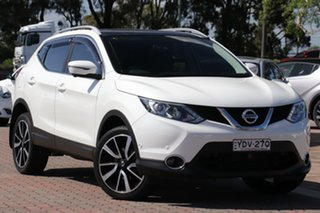 2016 Nissan Qashqai J11 TI White 1 Speed Constant Variable SUV.