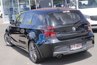 2010 BMW 1 Series E87 MY11 118d Steptronic Black 6 Speed Sports Automatic Hatchback