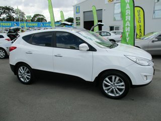 2013 Hyundai ix35 HIGHLANDER White 4 Speed Automatic Wagon.