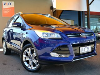 2016 Ford Kuga TF MY16.5 Trend AWD Blue 6 Speed Sports Automatic Wagon.
