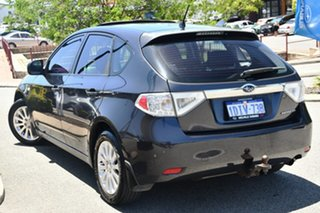 2009 Subaru Impreza G3 MY09 RX AWD Dark Grey 5 Speed Manual Hatchback.