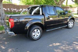 2010 Nissan Navara D40 ST-X Black 5 Speed Automatic Utility.