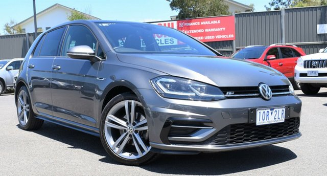 Used Volkswagen Golf 7.5 MY19.5 110TSI DSG Highline Wantirna South, 2019 Volkswagen Golf 7.5 MY19.5 110TSI DSG Highline Grey 7 Speed Sports Automatic Dual Clutch