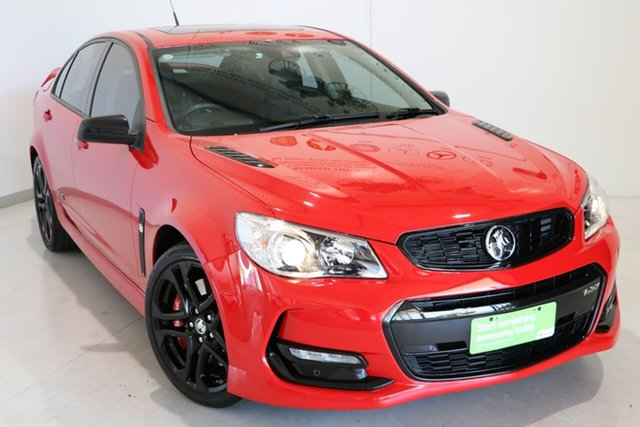 Used Holden Commodore VF II MY17 SS V Redline Wagga Wagga, 2017 Holden Commodore VF II MY17 SS V Redline Red 6 Speed Sports Automatic Sedan
