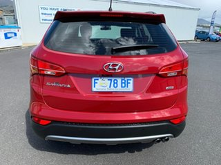 2012 Hyundai Santa Fe DM MY13 Active Red 6 Speed Sports Automatic Wagon