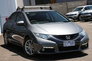 2012 Honda Civic VTi Silver 5 Speed Manual Sedan.