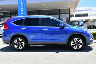 2015 Honda CR-V RM Series II MY17 VTi-S Blue 5 Speed Sports Automatic Wagon