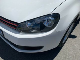 2012 Volkswagen Golf VI MY12.5 103TDI DSG Comfortline White 6 Speed Sports Automatic Dual Clutch.