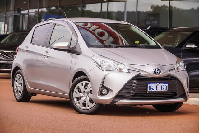 Used Toyota Yaris NCP131R SX Gosnells, 2017 Toyota Yaris NCP131R SX Silver 4 Speed Automatic Hatchback