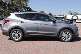 2016 Hyundai Santa Fe DM3 MY17 Elite Grey 6 Speed Sports Automatic SUV