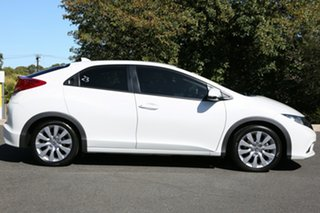 2013 Honda Civic 9th Gen MY13 DTI-S White Orchid 6 Speed Manual Hatchback