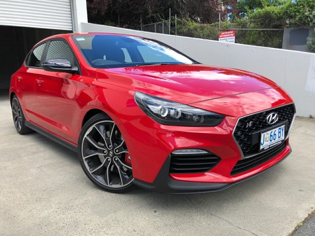 Demo Hyundai i30 PDe.3 MY20 N Fastback Performance Hobart, 2019 Hyundai i30 PDe.3 MY20 N Fastback Performance Engine Red 6 Speed Manual Coupe
