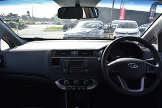 2012 Kia Rio UB MY12 S Silver 6 Speed Manual Hatchback