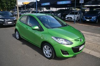 2012 Mazda 2 DE MY12 Neo Green 4 Speed Automatic Hatchback.