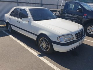 1996 Mercedes-Benz C-Class W202 C180 Esprit White 4 Speed Automatic Sedan