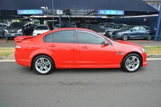 2007 Holden Commodore VE MY08 SV6 Red 5 Speed Automatic Sedan.