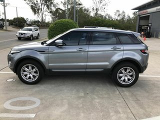 2011 Land Rover Range Rover Evoque L538 MY12 TD4 CommandShift Pure Grey 6 Speed Sports Automatic