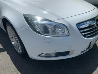 2012 Opel Insignia IN Select White 6 Speed Sports Automatic Sedan