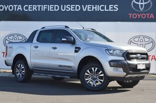2017 Ford Ranger PX MkII MY18 Wildtrak 3.2 (4x4) Silver 6 Speed Automatic Dual Cab Pick-up.