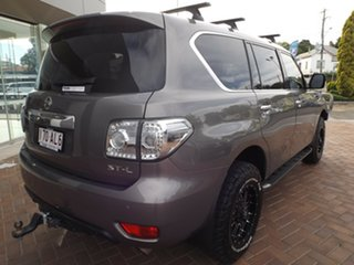 2012 Nissan Patrol Y62 ST-L Grey 7 Speed Sports Automatic Wagon.