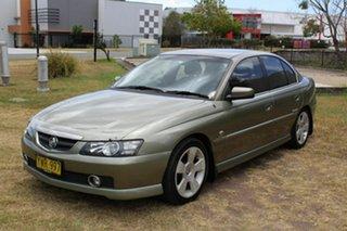 2003 Holden Calais VY II Green 4 Speed Automatic Sedan.