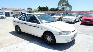 1998 Mitsubishi Lancer CE GLi White 4 Speed Automatic Coupe.
