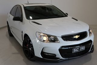 2017 Holden Commodore VF II MY17 SS V Redline White 6 Speed Manual Sedan.