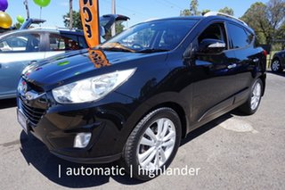 2010 Hyundai ix35 LM MY11 Highlander AWD Phantom Black 6 Speed Sports Automatic Wagon.