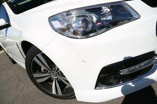 2015 Holden Commodore VF MY15 SV6 Storm Heron White 6 Speed Sports Automatic Sedan.