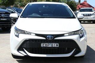 2019 Toyota Corolla Hatch Hybrid ZWE211R Ascent Sport E-CVT Hybrid Crystal Pearl 10 Speed