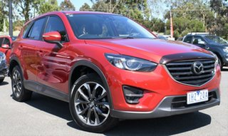 2016 Mazda CX-5 KE1022 Akera SKYACTIV-Drive AWD Red/Black 6 Speed Sports Automatic Wagon.