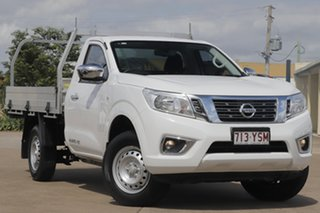 2018 Nissan Navara D23 S3 RX 4x2 Polar White 6 Speed Manual Cab Chassis.