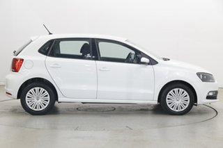 2015 Volkswagen Polo 6R MY15 66TSI Trendline Pure White 5 Speed Manual Hatchback