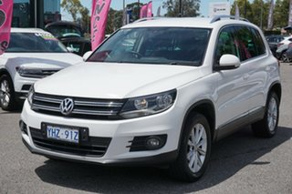 2012 Volkswagen Tiguan 5N MY13 155TSI DSG 4MOTION White 7 Speed Sports Automatic Dual Clutch Wagon.