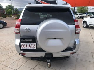 2017 Toyota Landcruiser Prado GDJ150R GXL Silver 6 Speed Sports Automatic Wagon