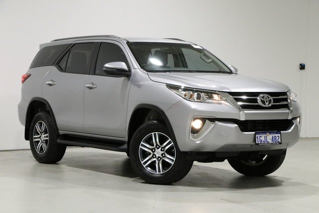 Used Toyota Fortuner GUN156R MY18 GXL Bentley, 2017 Toyota Fortuner GUN156R MY18 GXL Pewter 6 Speed Automatic Wagon